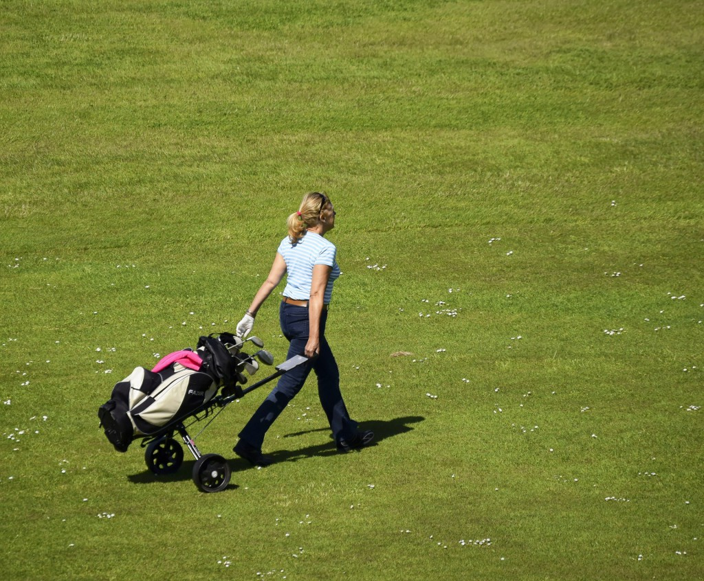 women in golf